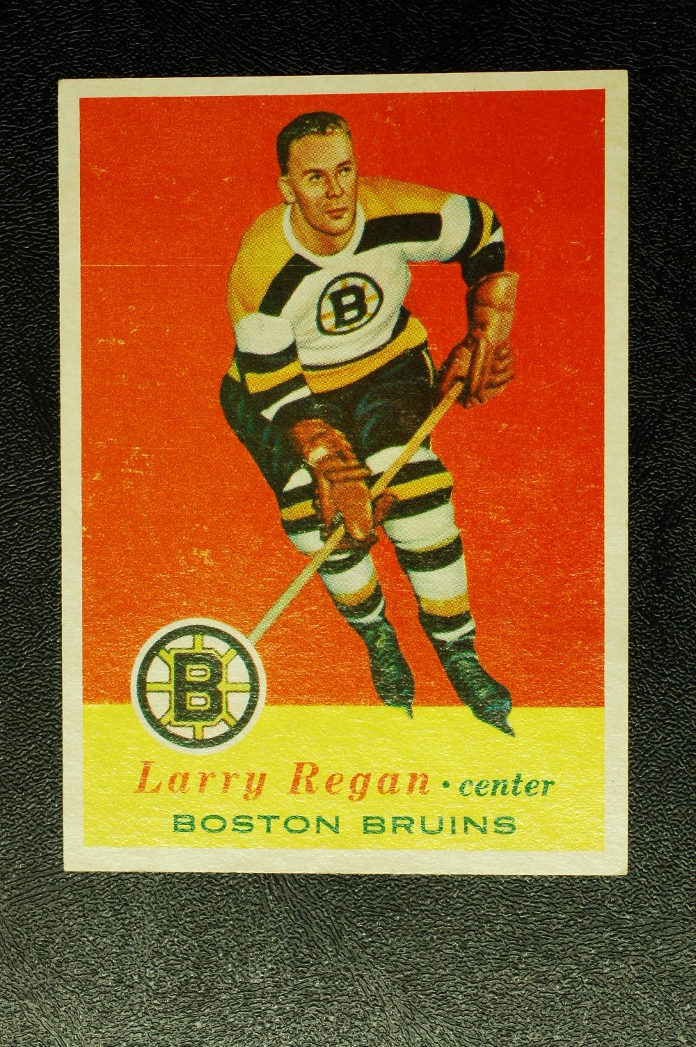 1957-58 Topps #6 Larry Regan RC