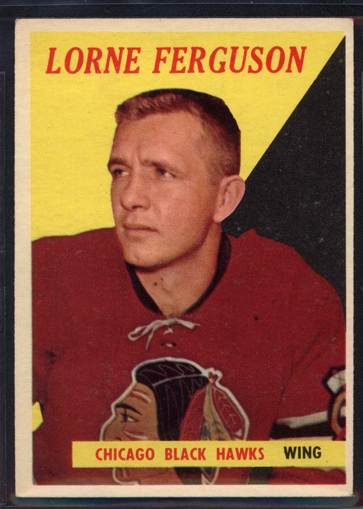 1958-59 Topps #55 Lorne Ferguson