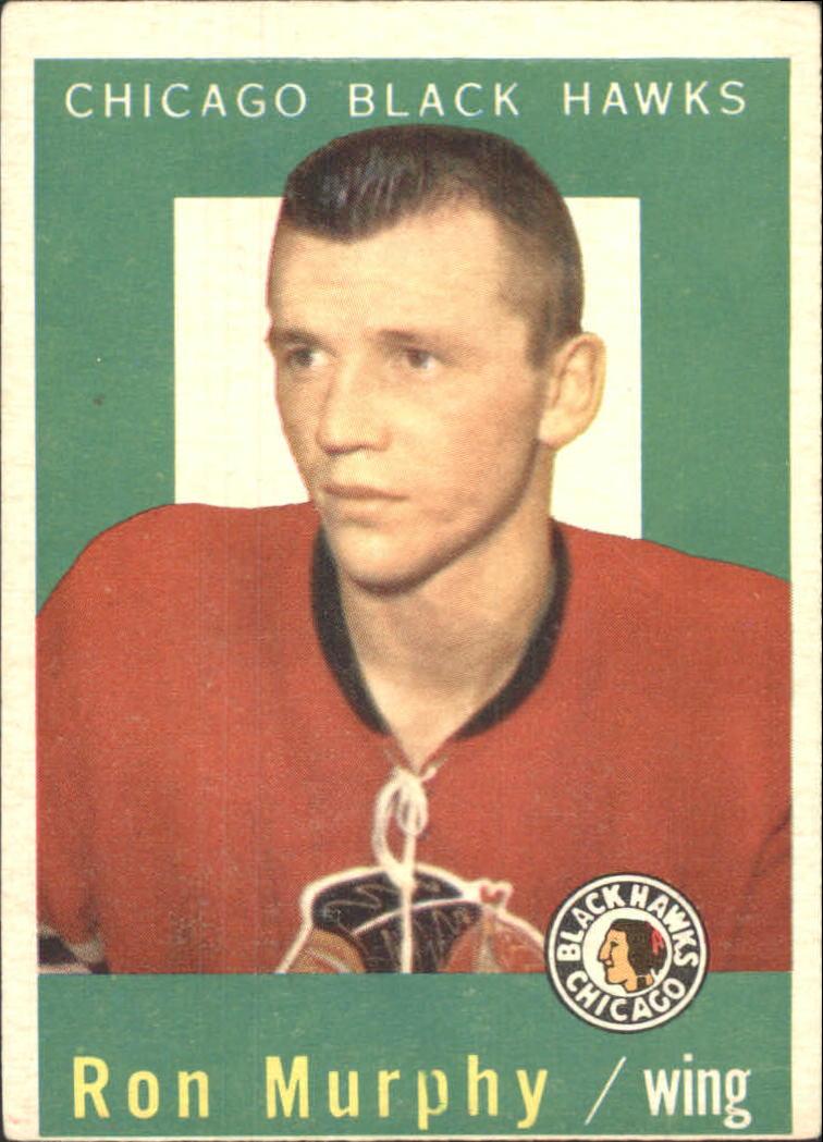 1959-60 Topps #66 Ron Murphy