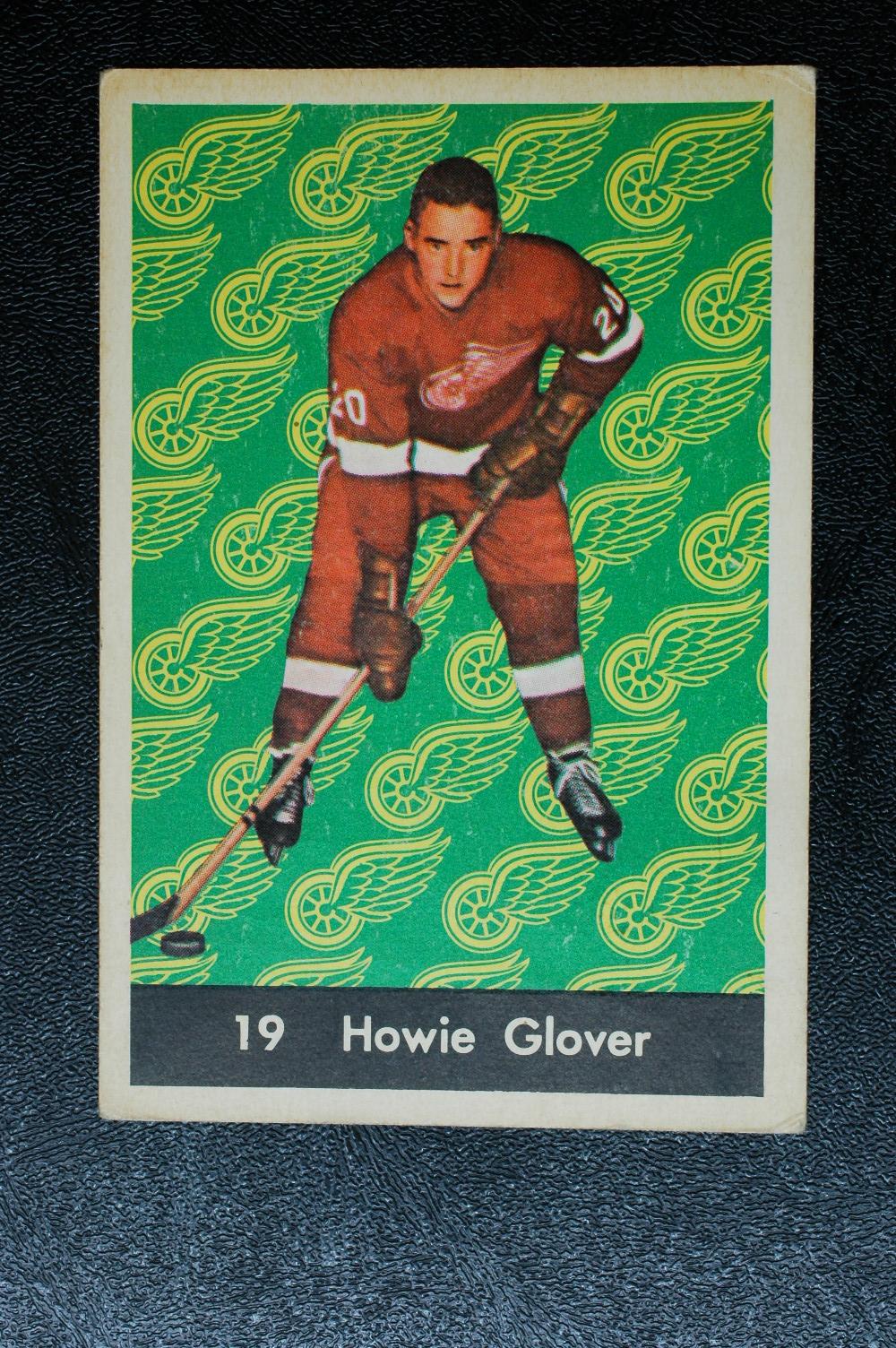 1961-62 Parkhurst #19 Howie Glover RC