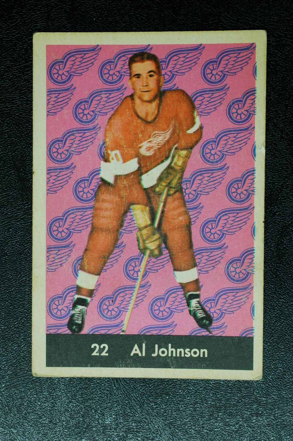 1961-62 Parkhurst #22 Al Johnson RC