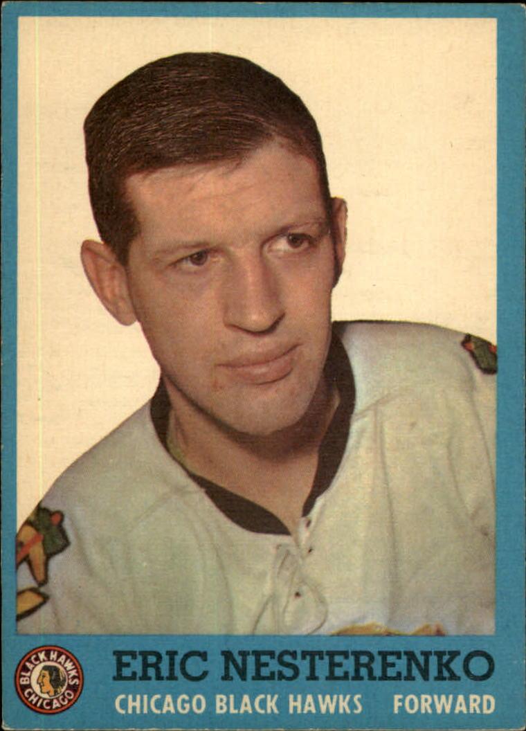 1962-63 Topps #41 Eric Nesterenko