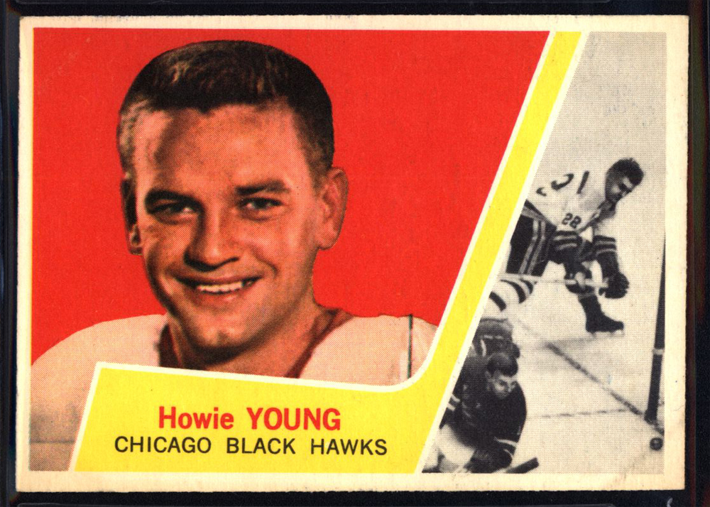 1963-64 Topps #29 Howie Young RC