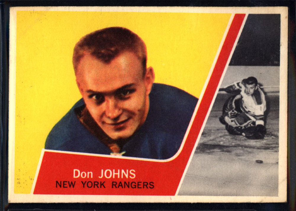 1963-64 Topps #64 Don Johns RC