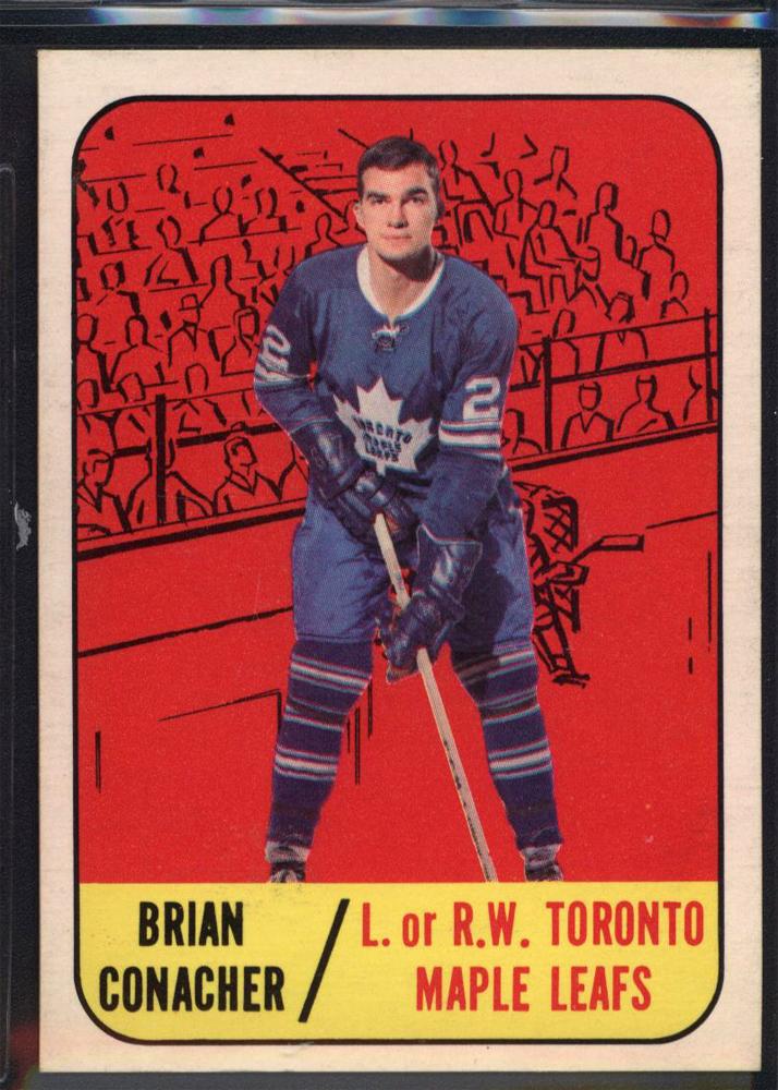 1967-68 Topps #17 Brian Conacher RC