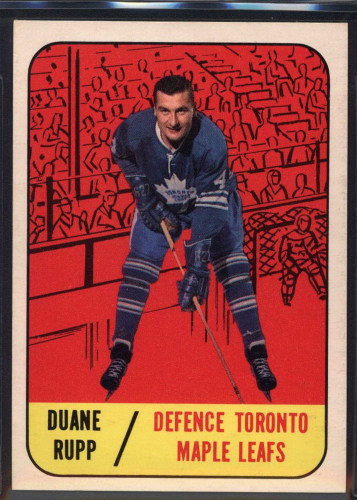 1967-68 Topps #20 Duane Rupp RC