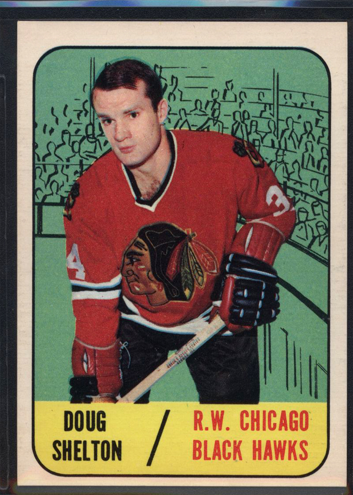 1967-68 Topps #53 Doug Shelton RC