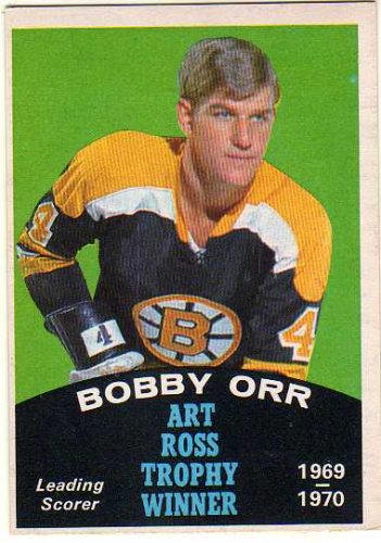 1970-71 O-Pee-Chee #249 Bobby Orr Ross