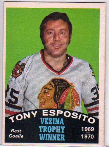 1970-71 O-Pee-Chee #250 Tony Esposito Vezina