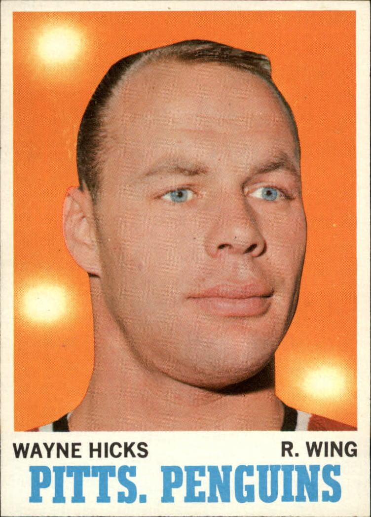 1970-71 Topps #95 Wayne Hicks RC
