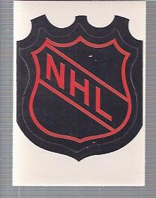 1972-73 O-Pee-Chee Team Logos #1 NHL Logo