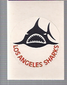1972-73 O-Pee-Chee Team Logos #23 Los Angeles Sharks SP