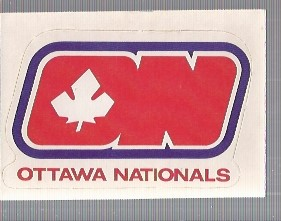1972-73 O-Pee-Chee Team Logos #27 Ottawa Nationals SP
