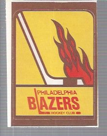 1972-73 O-Pee-Chee Team Logos #28 Phila. Blazers SP