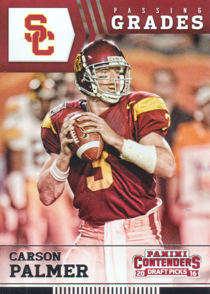 C/&I Collectables NCAA USC Trojans Mens Carson Palmer Two Card Plaque Brown 6X8