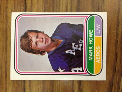 1975-76 O-Pee-Chee WHA #7 Mark Howe RC