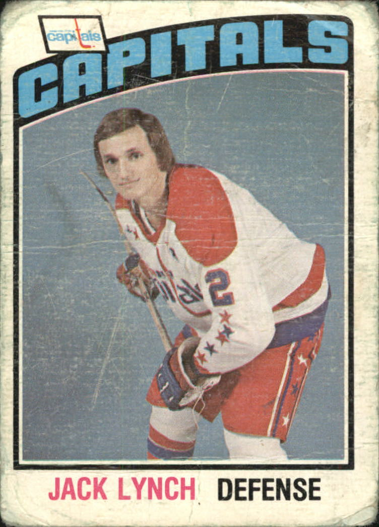 1976-77 O-Pee-Chee #288 Jack Lynch
