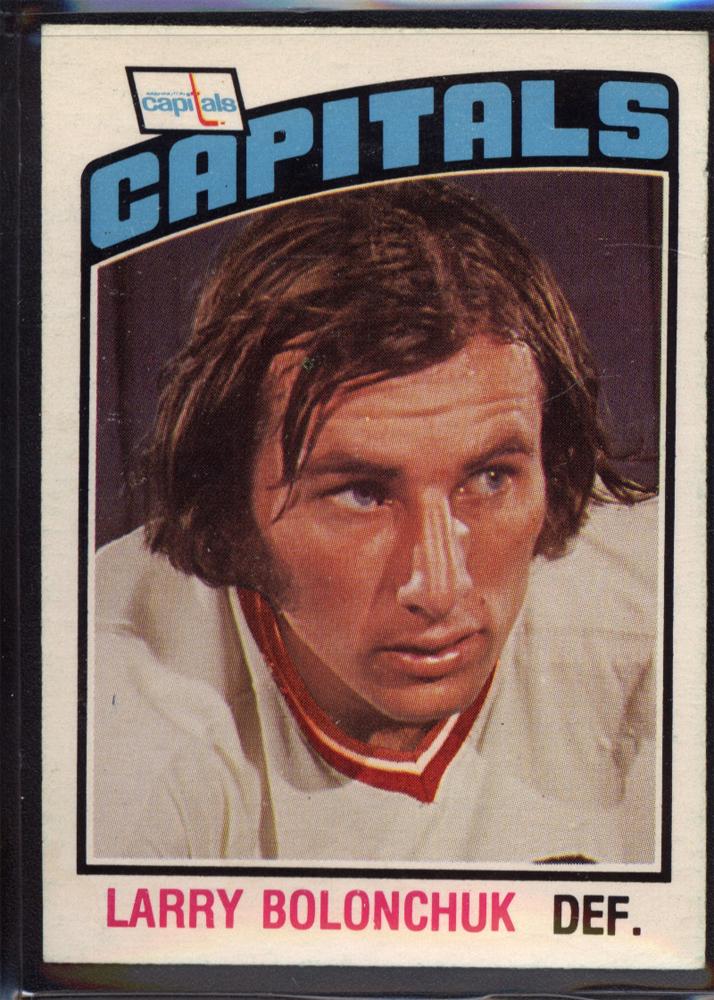 1976-77 O-Pee-Chee #322 Larry Bolonchuk RC
