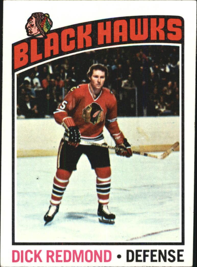1976-77 Topps #12 Dick Redmond