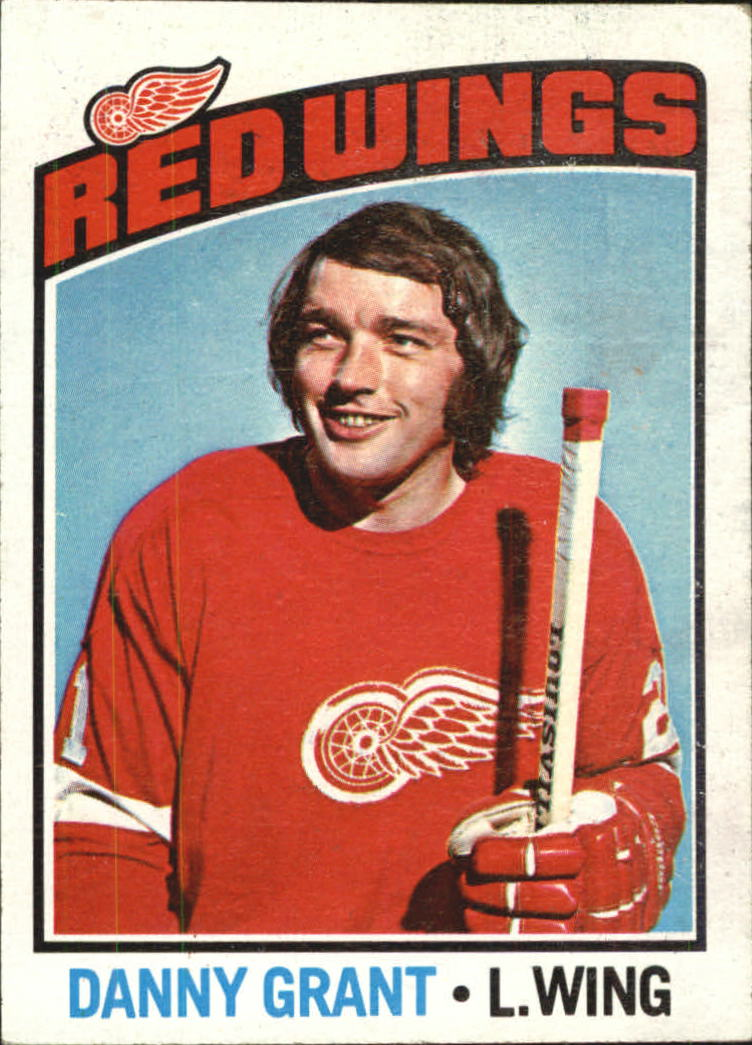 1976-77 Topps #16 Danny Grant