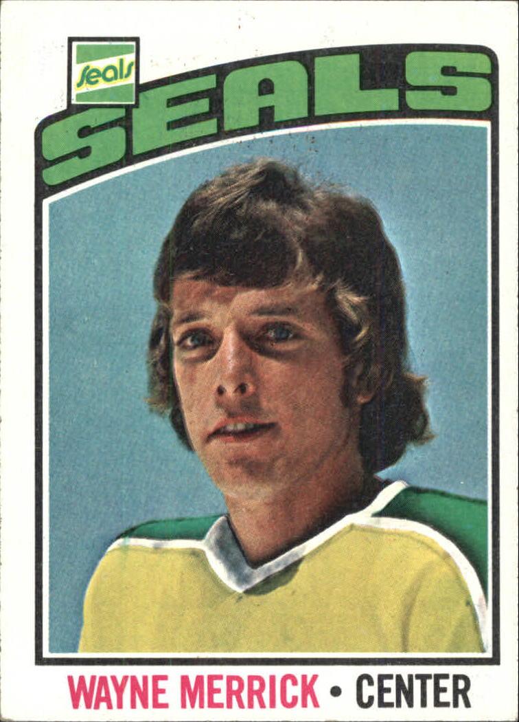 1976-77 Topps #18 Wayne Merrick