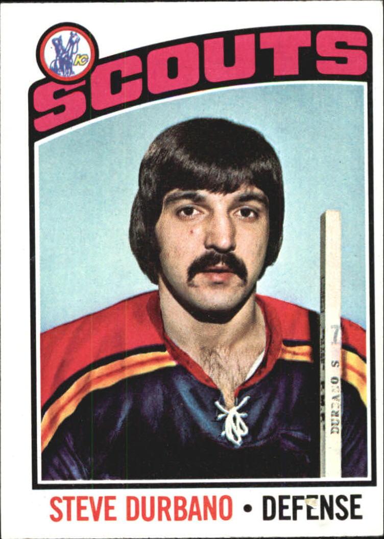 1976-77 Topps #19 Steve Durbano