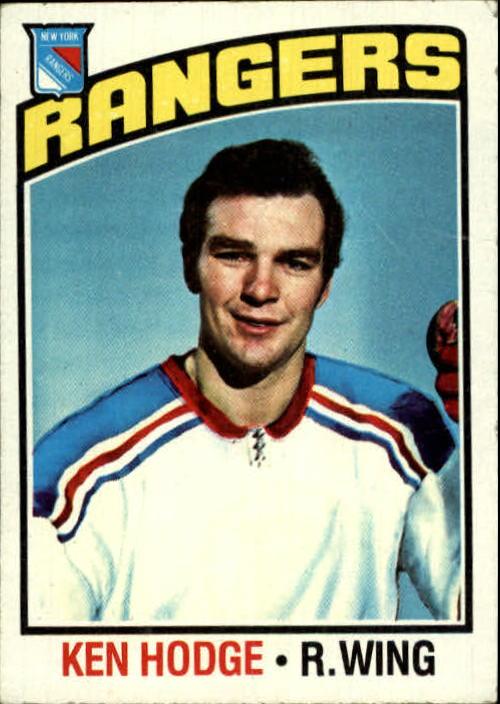 1976-77 Topps #25 Ken Hodge