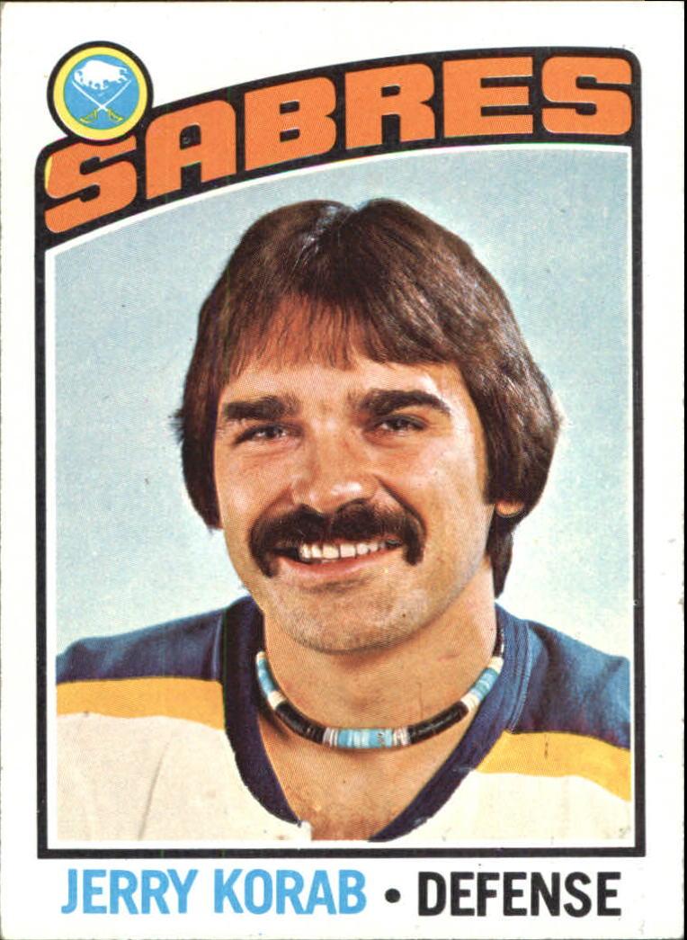 1976-77 Topps #27 Jerry Korab
