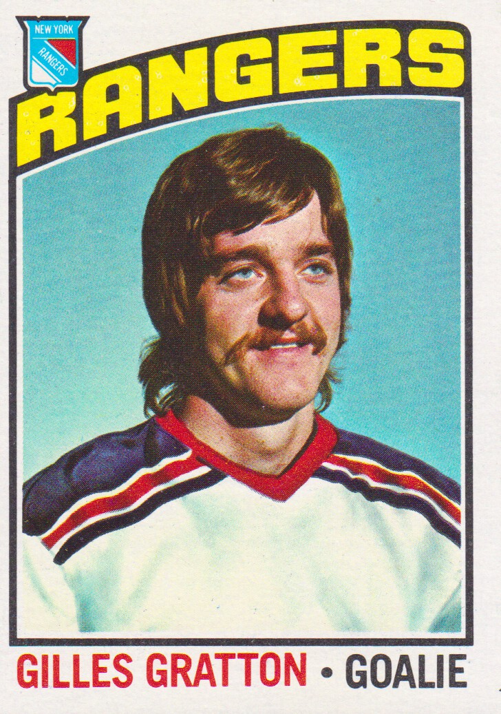 1976-77 Topps #28 Gilles Gratton