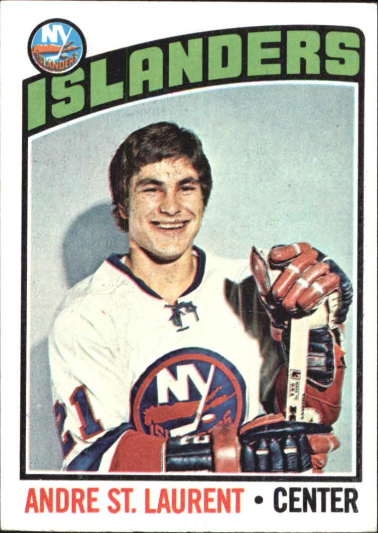 1976-77 Topps #29 Andre St.Laurent