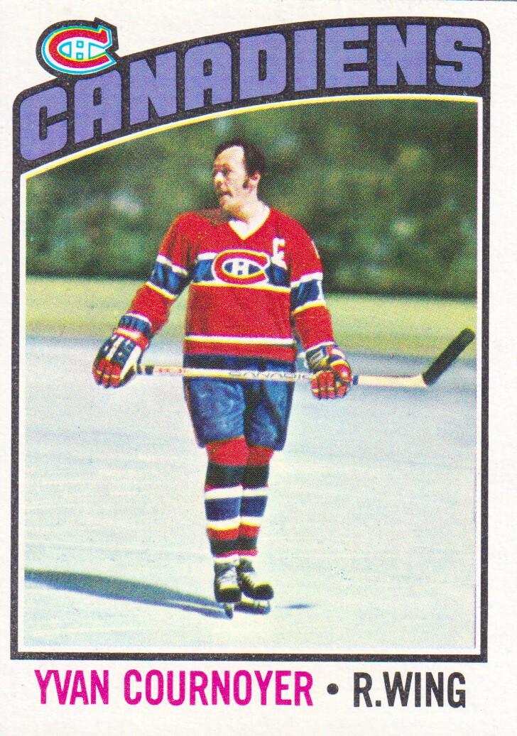 1976-77 Topps #30 Yvan Cournoyer