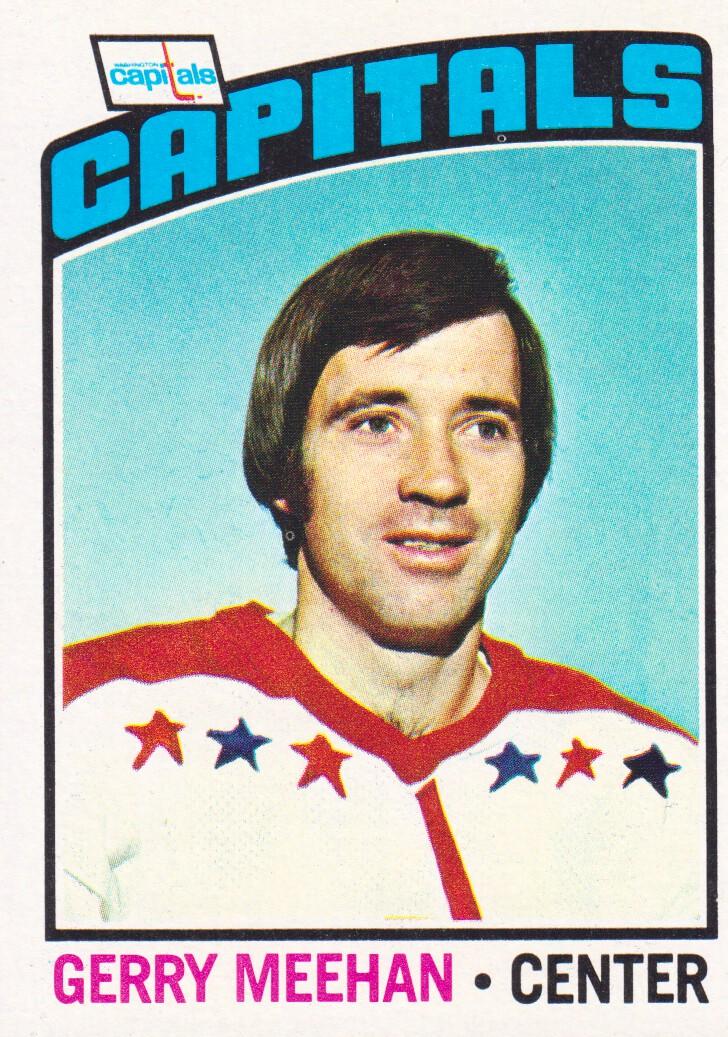 1976-77 Topps #35 Gerry Meehan