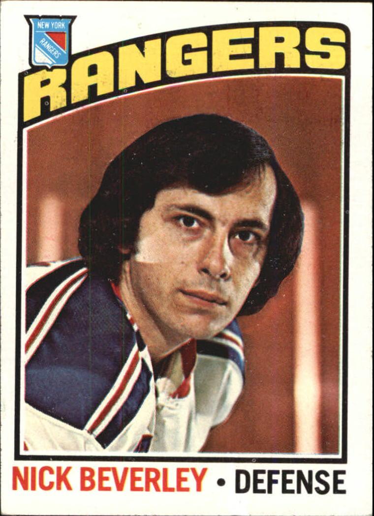 1976-77 Topps #41 Nick Beverley