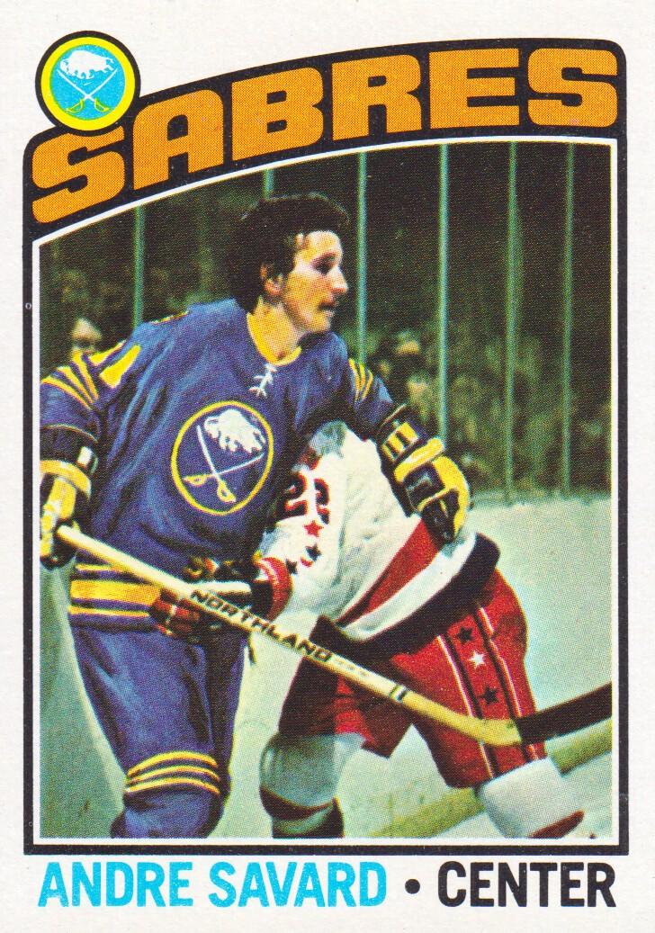 1976-77 Topps #43 Andre Savard