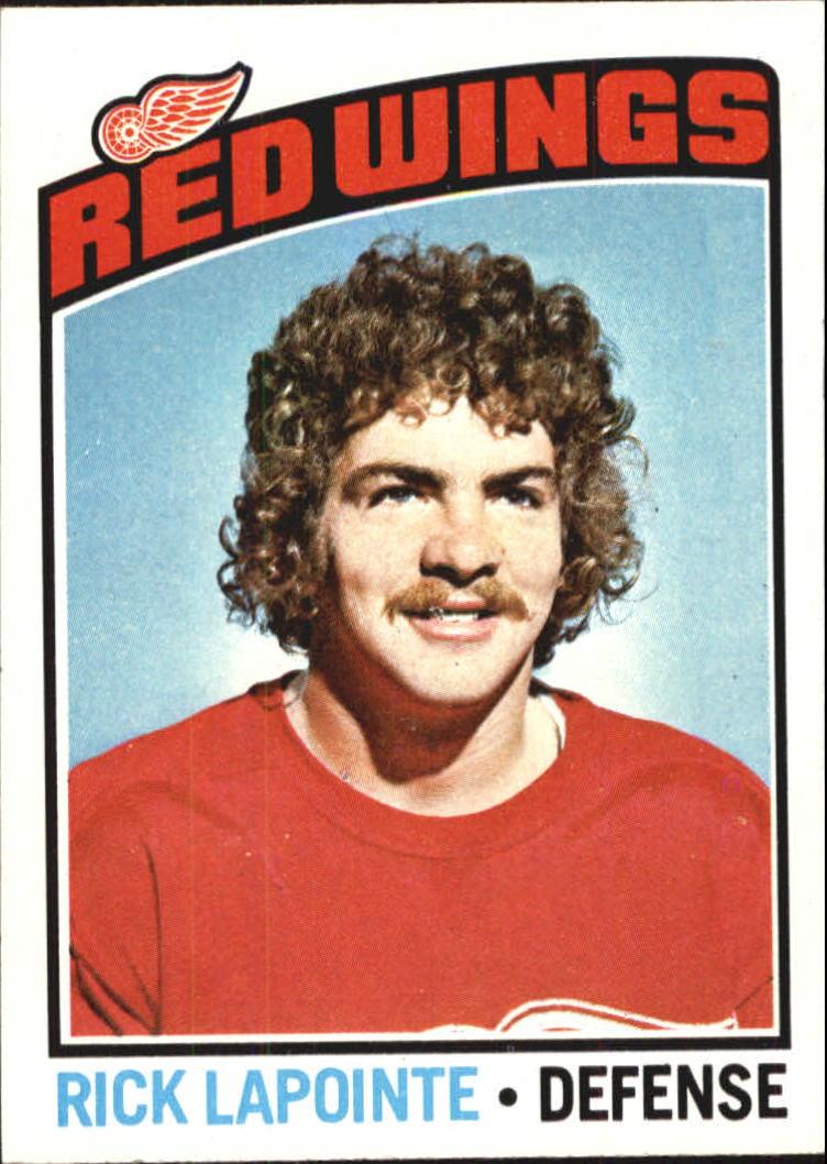 1976-77 Topps #48 Rick Lapointe RC