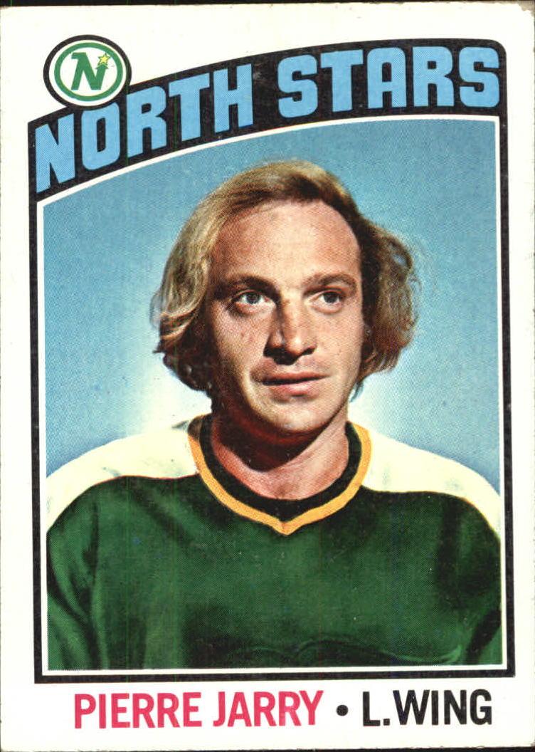 1976-77 Topps #49 Pierre Jarry