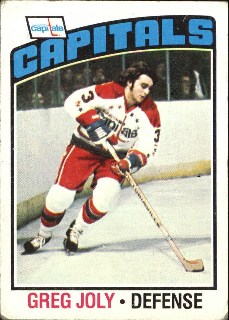 1976-77 Topps #52 Greg Joly