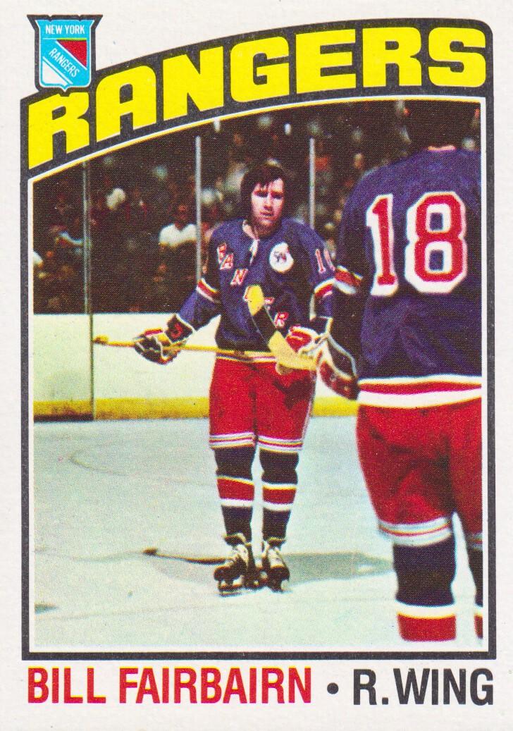 1976-77 Topps #57 Bill Fairbairn