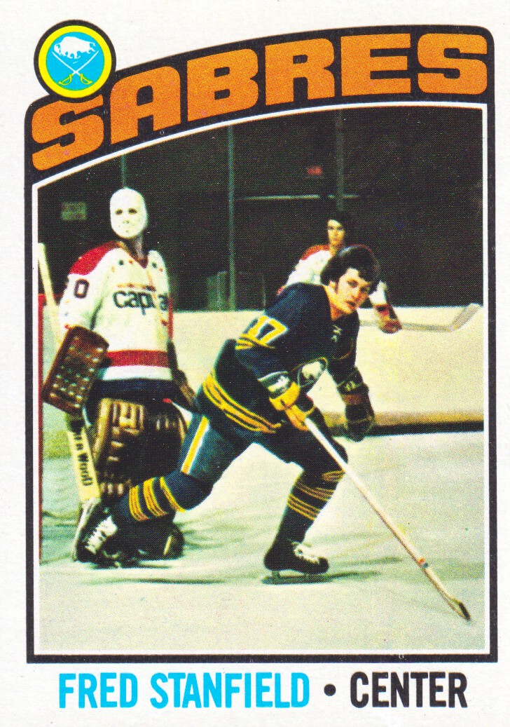 1976-77 Topps #58 Fred Stanfield
