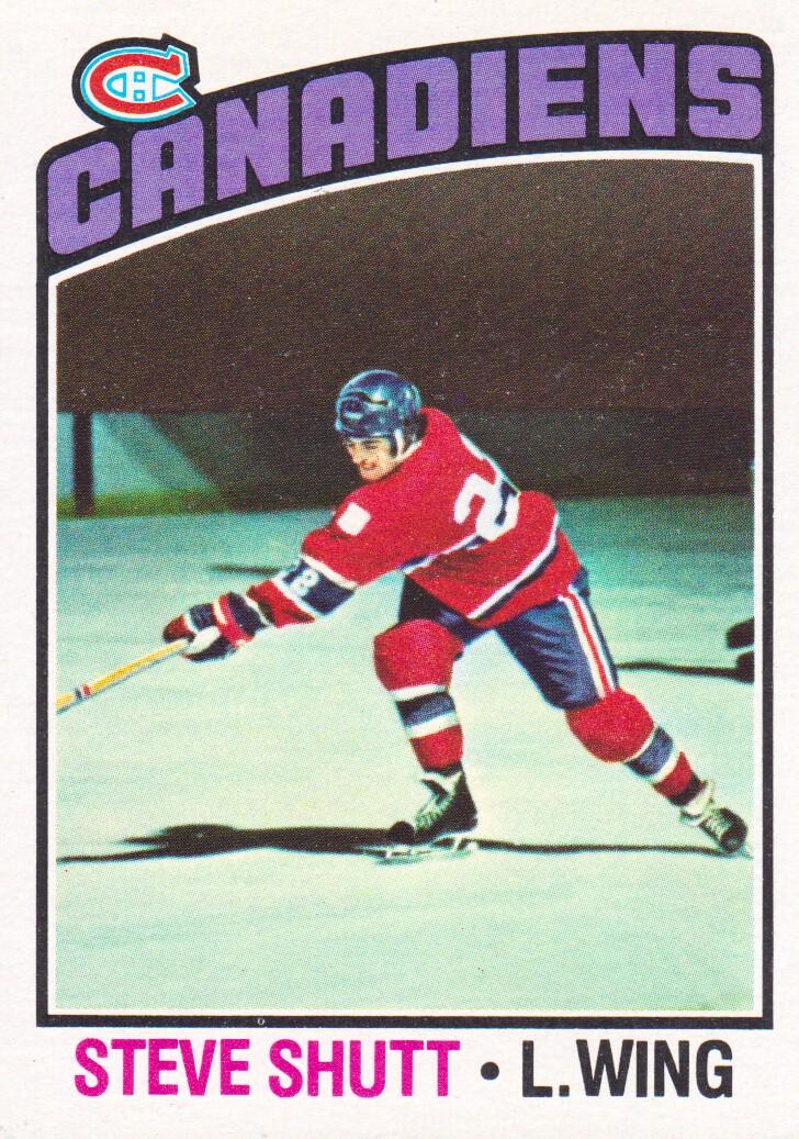 1976-77 Topps #59 Steve Shutt