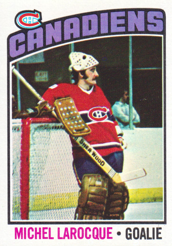 1976-77 Topps #79 Michel Larocque