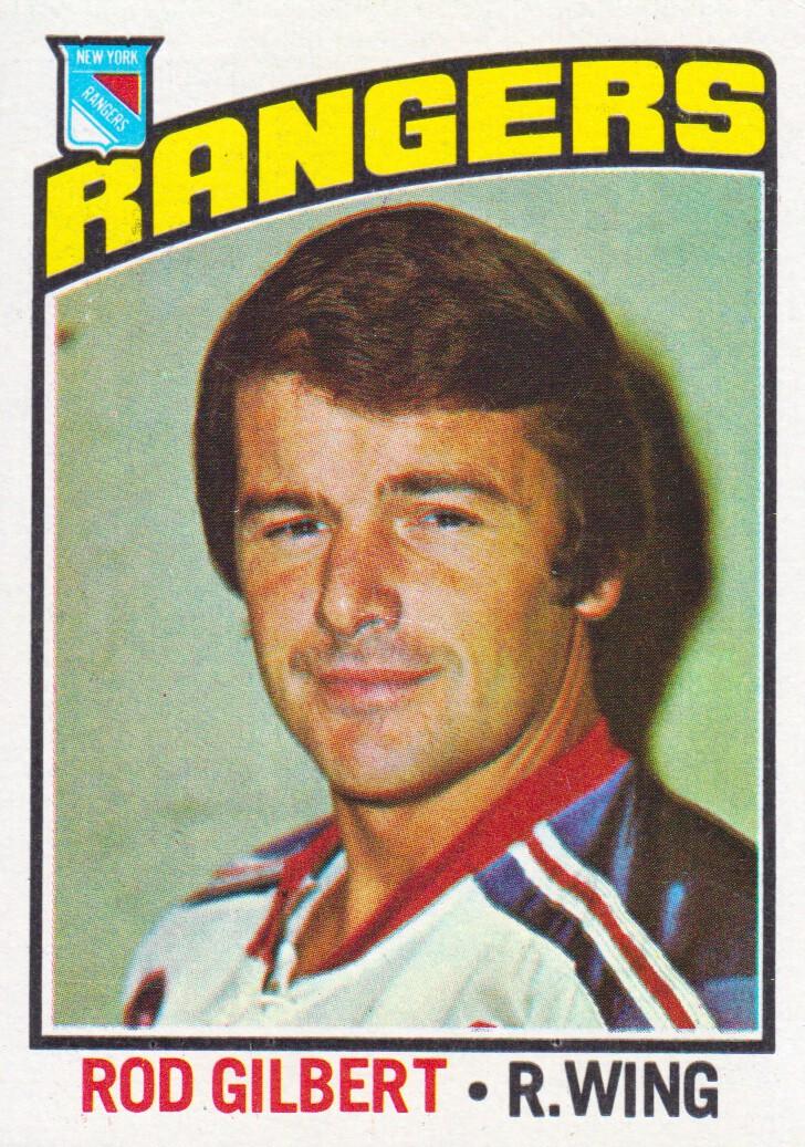1976-77 Topps #90 Rod Gilbert