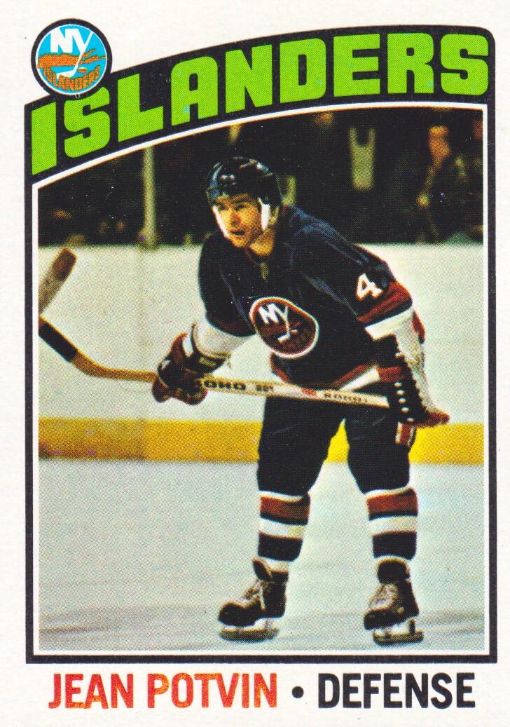 1976-77 Topps #93 Jean Potvin