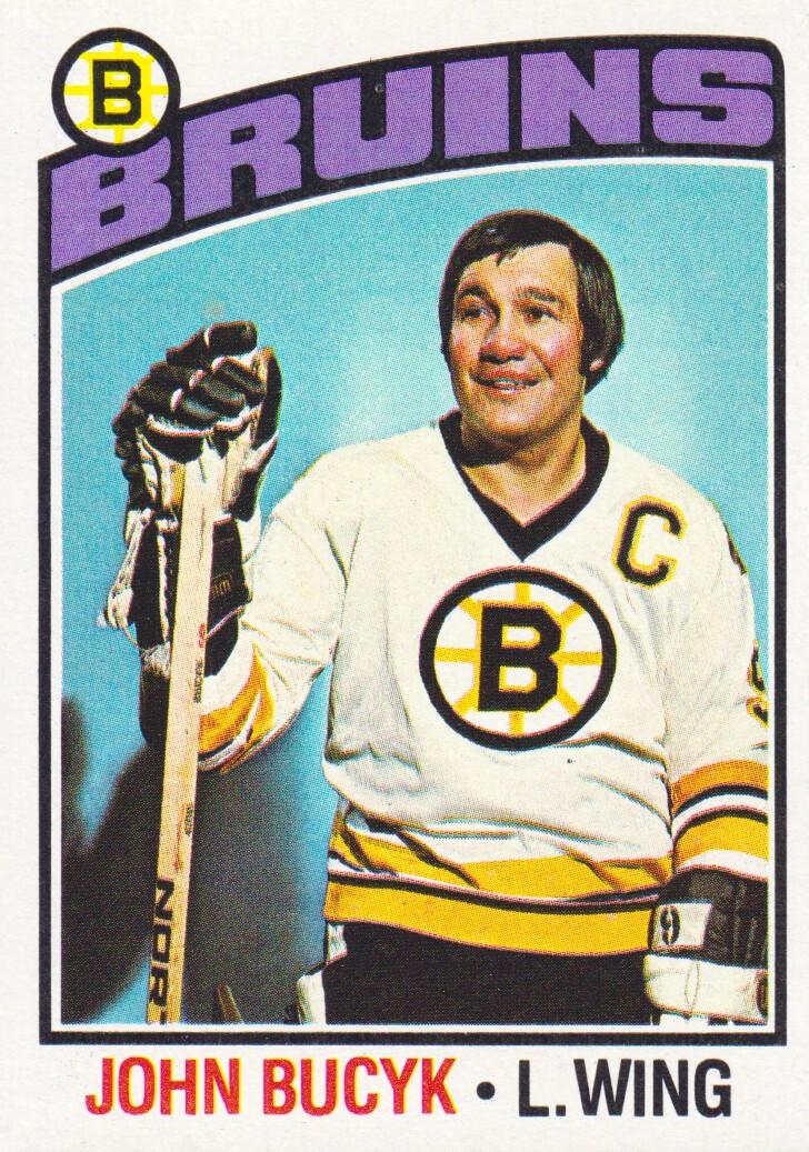 1976-77 Topps #95 Johnny Bucyk