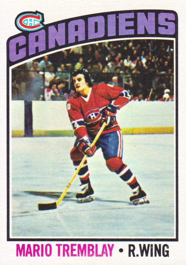 1976-77 Topps #97 Mario Tremblay