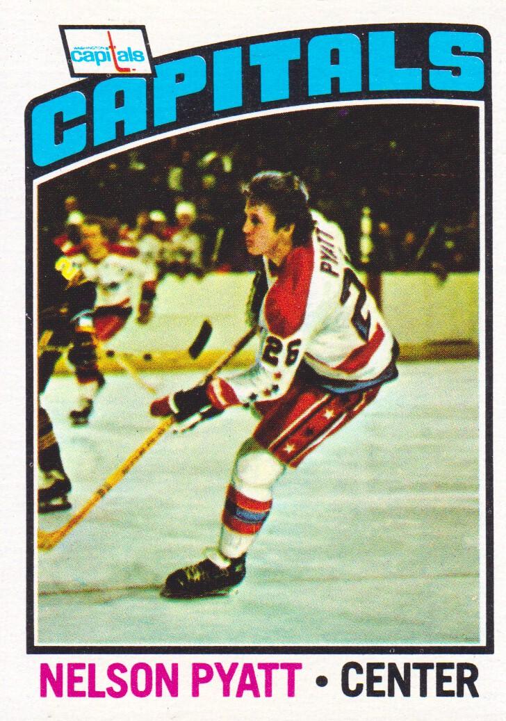 1976-77 Topps #98 Nelson Pyatt RC