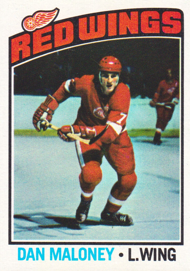 1976-77 Topps #101 Dan Maloney
