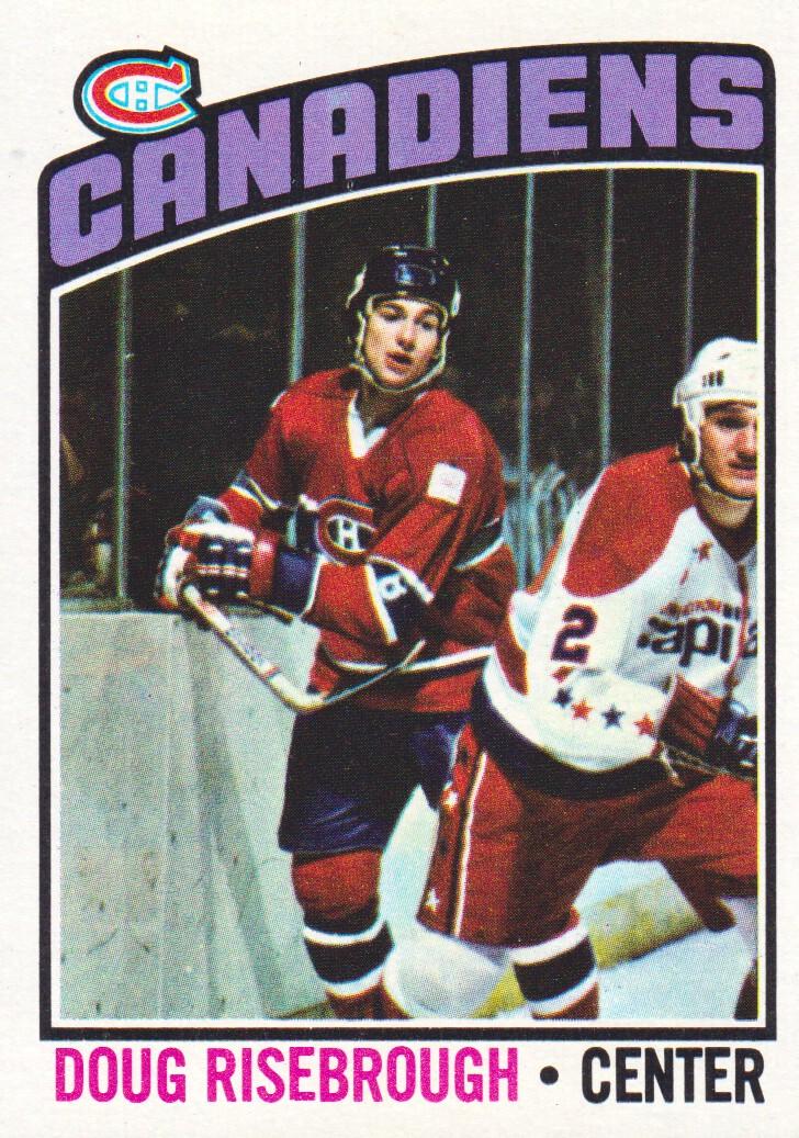 1976-77 Topps #109 Doug Risebrough