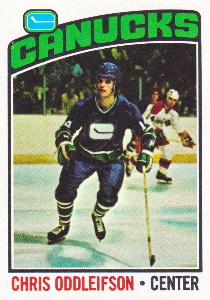 1976-77 Topps #112 Chris Oddleifson