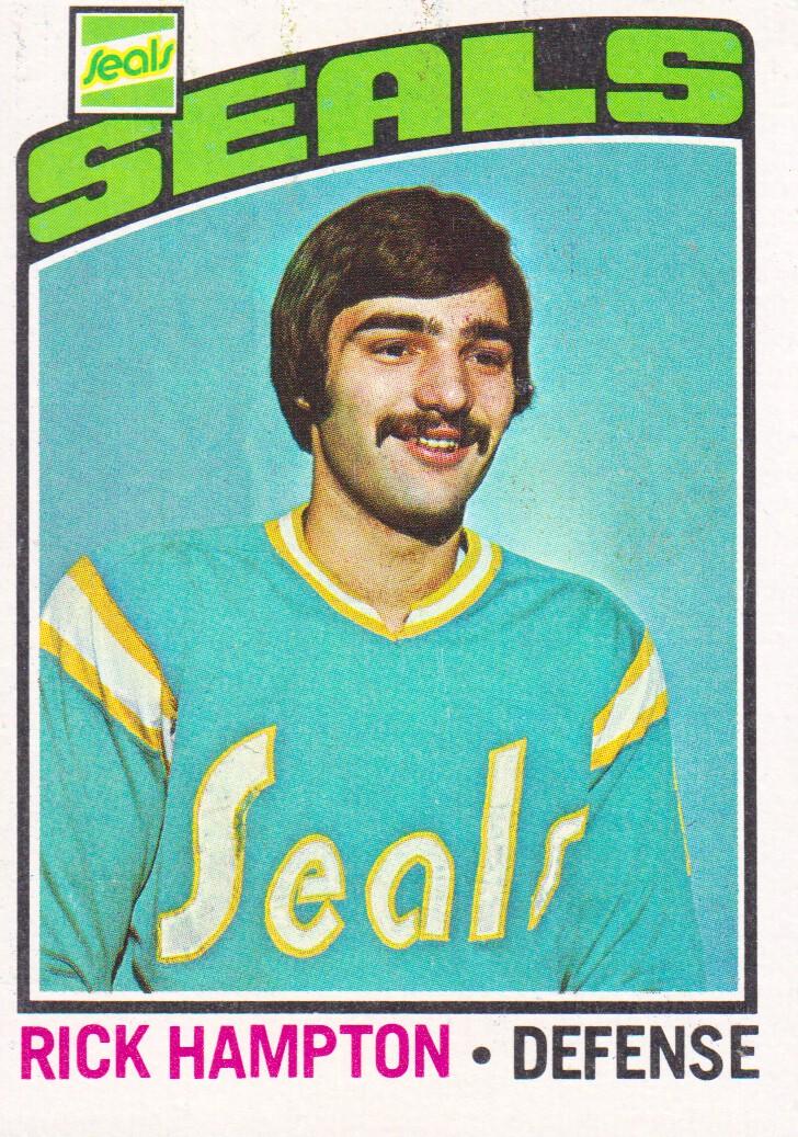 1976-77 Topps #113 Rick Hampton